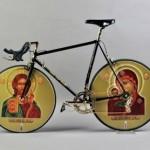 Освятить велосипед